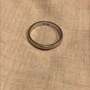 Jewelry - 14k white gold band